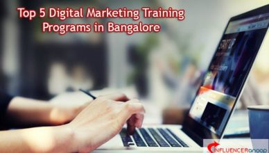 Top 5 Digital Marketing Training Programs in Bangalore